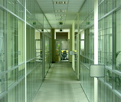 офисные аллюминиевые перегородки