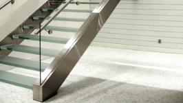 Лестница сварная прямая с тетивой с двух сторон
