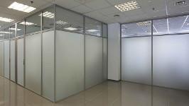 Перегородки с комбинированным стеклом