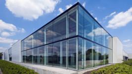 Структурная система для фасадного остекления